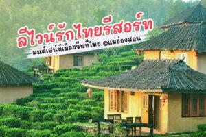 หมู่บ้านรักไทย ลีไวน์รักไทยรีสอร์ท จ.แม่ฮ่องสอน มนต์เสน่ห์เมืองจีนที่ไทย !!!